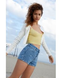 PacSun Midnight Sweater Cami Top - Yellow