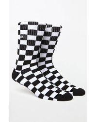 3c06c5090c7ab7 Lyst - Vans Classic Stripe Crew Socks in Black for Men