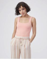 PAIGE Brennen Bodysuit - Pink