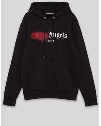 Palm Angels Tokyo ロゴ パーカー - ブラック