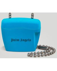 Palm Angels パドロック バッグ ミニ - ブルー