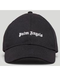 Palm Angels ロゴ キャップ - ブラック