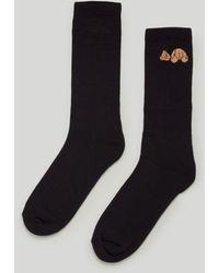 Palm Angels ベアモチーフ 靴下 - ブラック