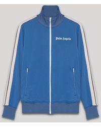 Palm Angels トラックジャケット - ブルー