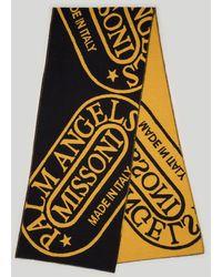 Palm Angels Heritage スカーフ - ブラック