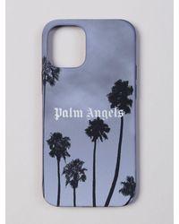 Palm Angels Palms Boulevard Iphone 12 Mini ケース - ブラック