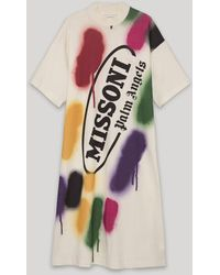 Palm Angels X Missoni Sport Tシャツワンピース - ホワイト