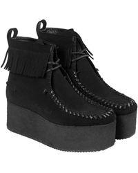 Palm Angels Clarks Wallacraft Hi Boots - Black