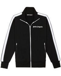 Palm Angels ロゴ トラックジャケット - ブラック