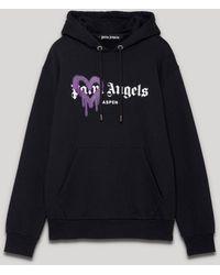 Palm Angels ハート パーカー - ブラック