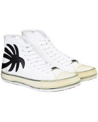 Palm Angels Palm High-top Vulcanized - White