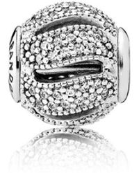 PANDORA - Essence Loyalty Charm - Lyst