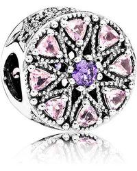 PANDORA - Shimmering Medallion Charm - Lyst