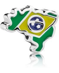 PANDORA - Brazil Charm - Lyst