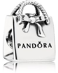 PANDORA - Bag Charm - Lyst