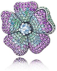 PANDORA - Glorious Bloom Pendant And Brooch - Lyst