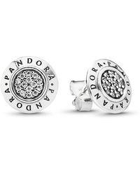 657d3090d Vera Bradley Signature Chandelier Earrings in Metallic - Lyst