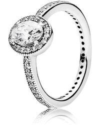 PANDORA - Vintage Elegance Ring - Lyst