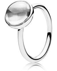 PANDORA - Poetic Droplet Ring - Lyst
