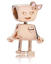 PANDORA - Bella Bot Charm - Lyst
