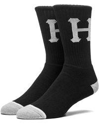 Huf Classic H Crew Socks - White