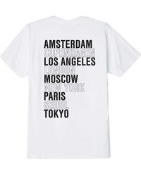 Obey Obey International Cities T-shirt - White