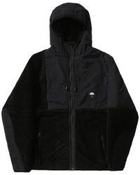 Hélas Moonlight Hooded Zip Jacket - Black