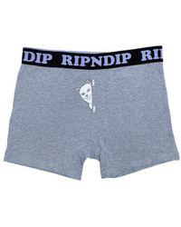 RIPNDIP Rip N Dip Peek A Nermal Boxers - Grey