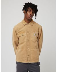 Carhartt WIP Carhartt-wip Michigan Coat (worn Canvas) - Brown
