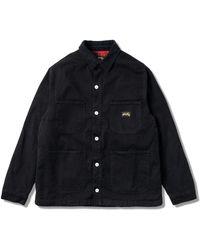 Stan Ray Winter Barn Coat - Black