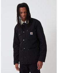 Carhartt WIP Carhartt-wip Fairmount Coat (organic Cotton) - Black