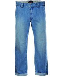 Dickies 873 Denim Work Pant - Blue