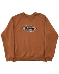 Bronze 56k Tool Time Crewneck Sweatshirt - Brown