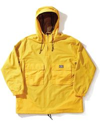 Obey Obey Inlet Anorak - Yellow