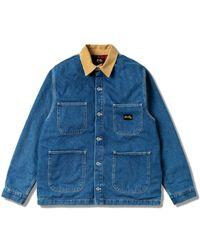 Stan Ray Winter Barn Coat - Blue