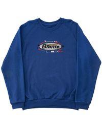 Bronze 56k Tool Time Crewneck Sweatshirt - Blue