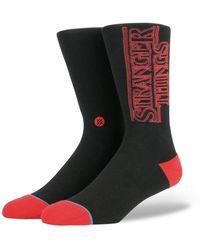 Stance Stance Stranger Things Socks - White