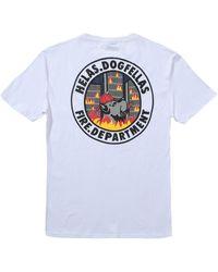 Hélas Fire Dept T-shirt - White