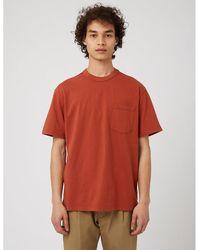Eastlogue One Pocket T-shirt - Brown