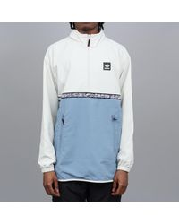 Adidas Dakari Windbreaker Jacket Raw White Raw Grey Gray