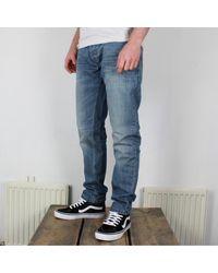 Dickies North Carolina Denim Jeans Tapered Fit Light Blue