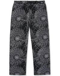 Butter Goods Web Trousers - Black