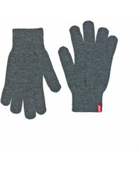 Levi's Levis Ben Touch Screen Gloves - Grey