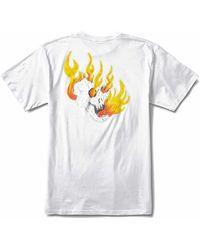 Vans - Rowan Zorilla Skull T-shirt - Lyst