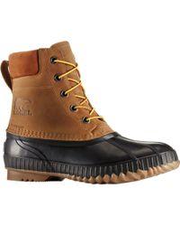 Sorel Cheyanne Ii Lace Duck Boot - Brown