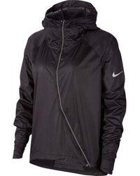 Nike Shield Running Jacket - Black
