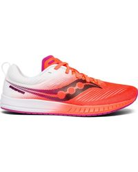 timeless design 79a85 7b139 Saucony Fastwitch 8 in Pink - Lyst