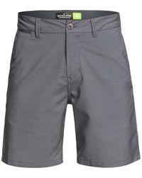 Quiksilver Union Dry Twill Amp 19 Swim Short - Gray