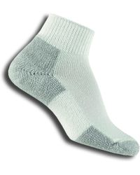 Thorlo Running Mini-crew Sock - White