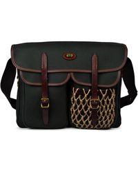 Brady Netted Shopper Bag - Black